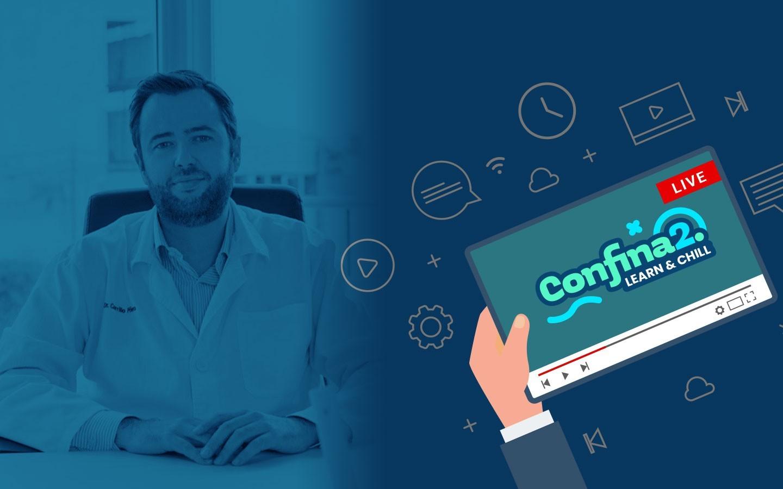 Confina2.0: Dr. Francisco Javier Carrillo Piñero – Artroscopia anterior de tobillo: del qué y el cómo al por qué y para qué.
