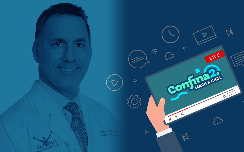 Confina2.0: Dr. Alejandro Badia. – Artroscopia de pequeñas articulaciones de mano.