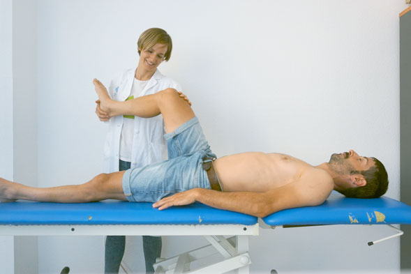 Explorando la rotación interna de la cadera.