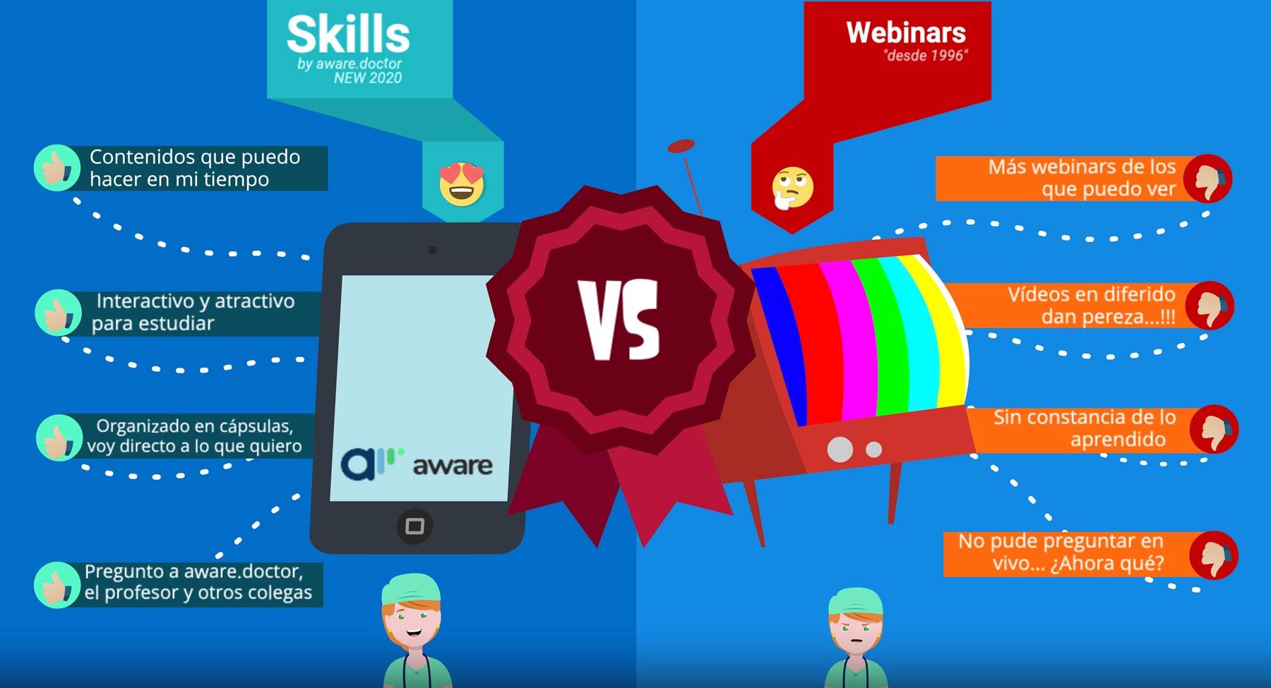skills vs webinars infographic