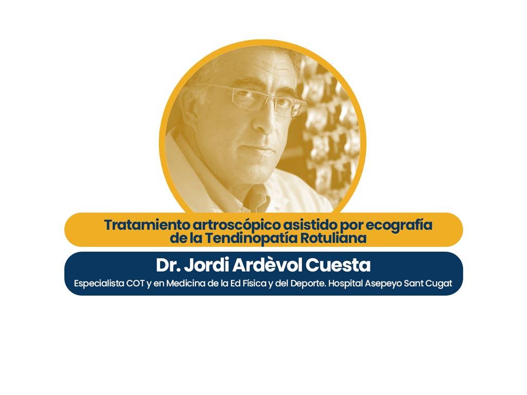Dr. Jordi Ardèvol Cuesta
