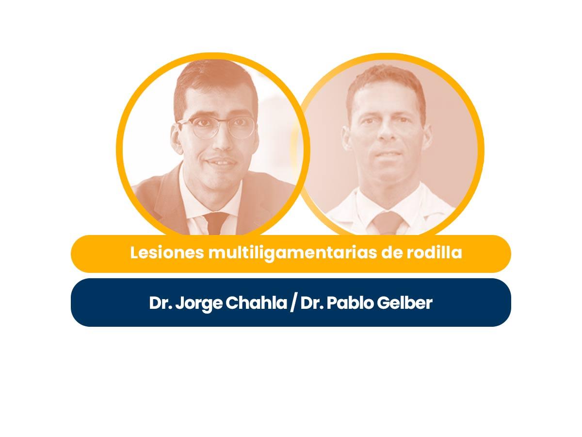 Dres Pablo Gelber y Jorge Chahla