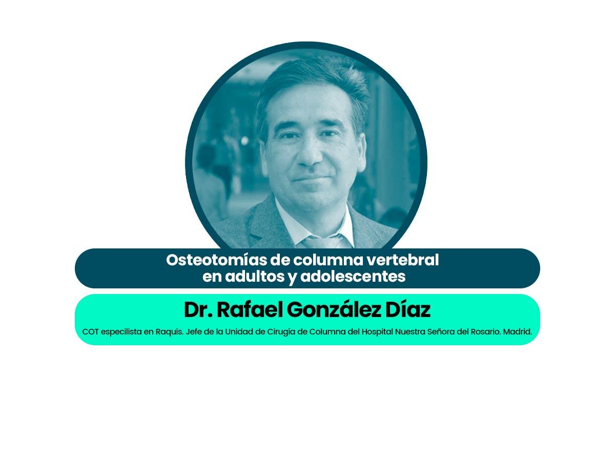 Dr. Rafael González Díaz