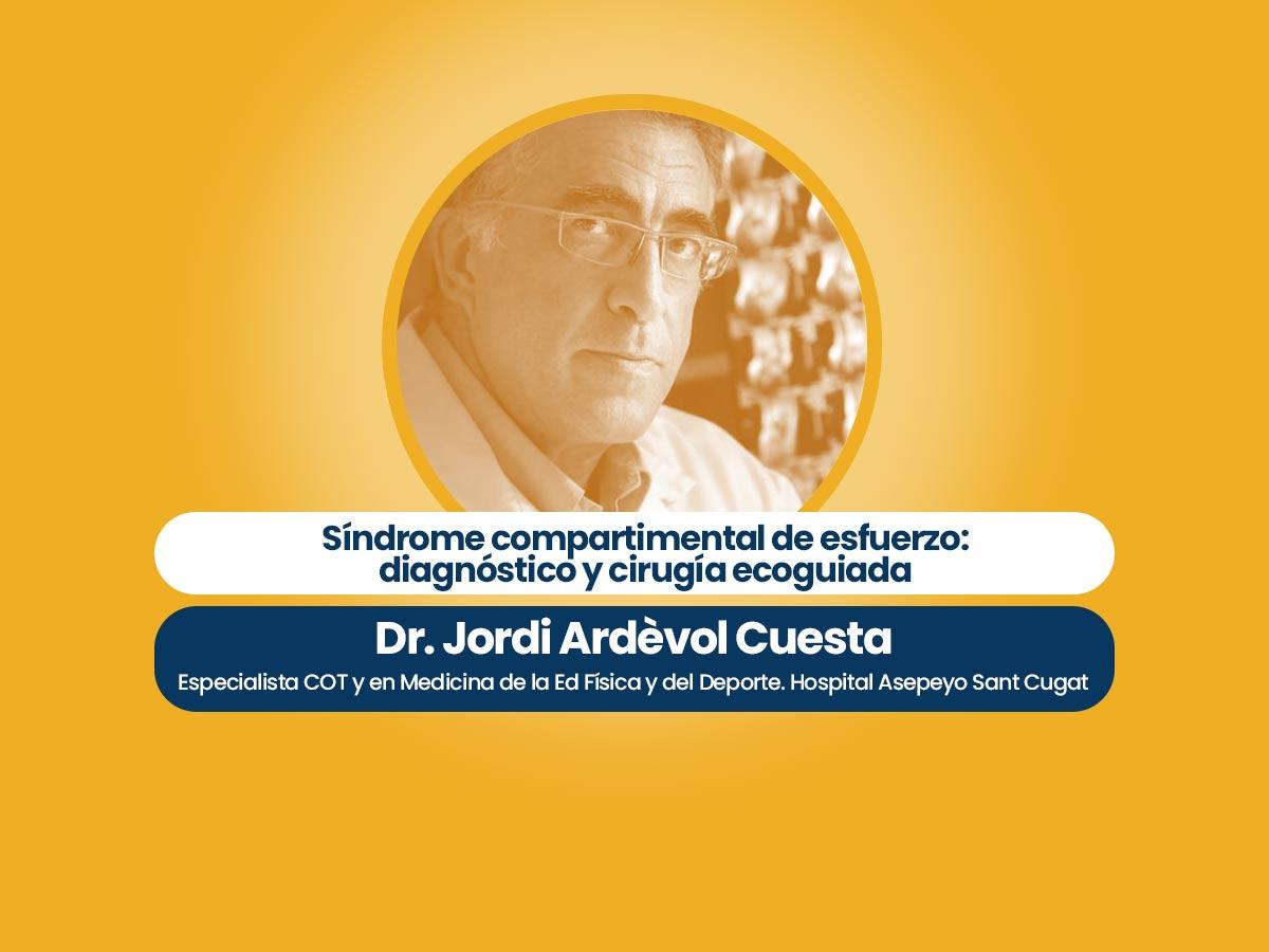 Dr. Jordi Ardévol